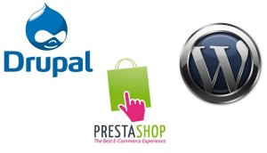 drupal wordpress prestashop