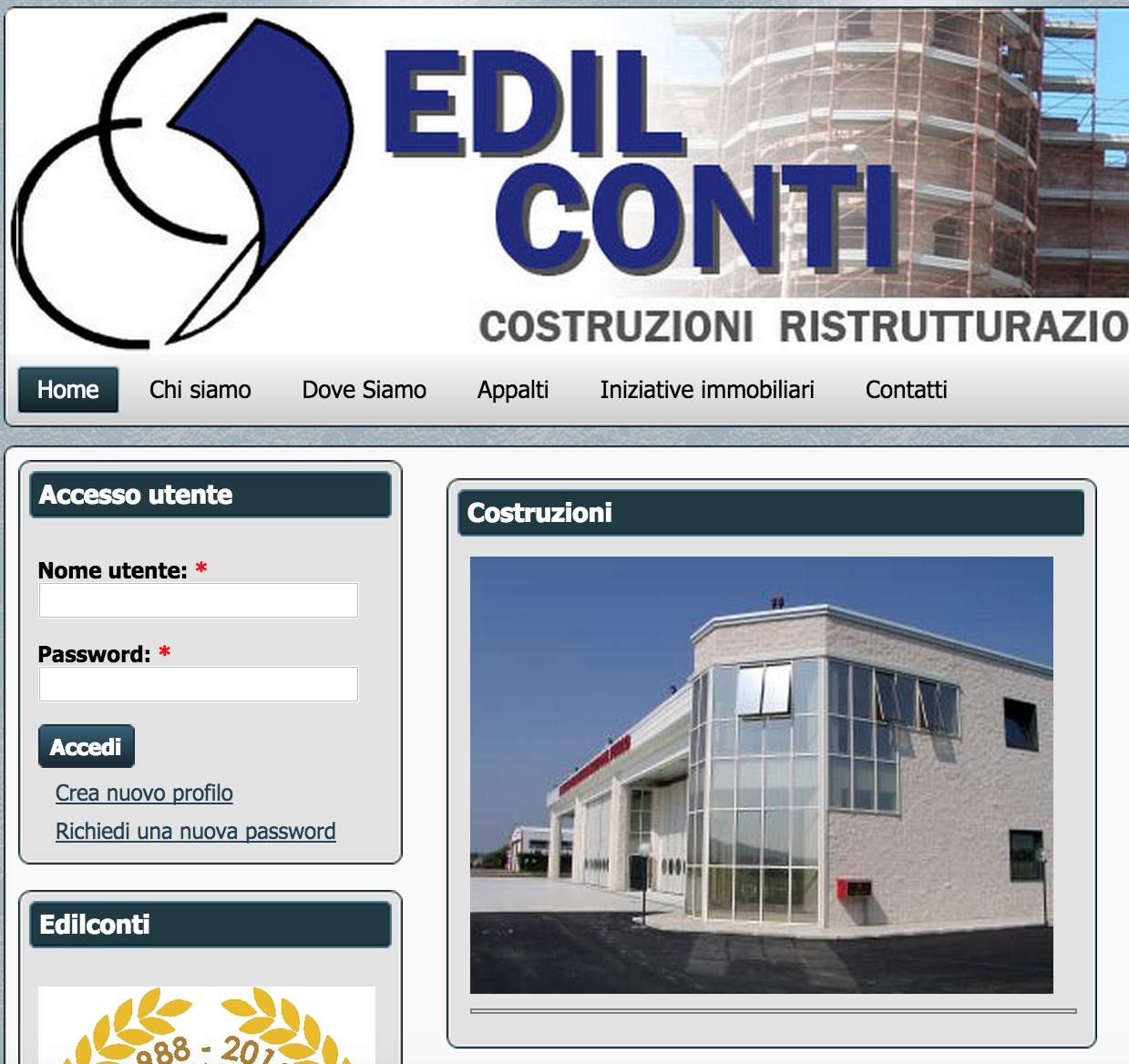 Edilconti Homepage