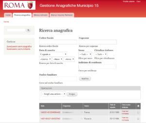 municipio roma 11 - 13 - 15