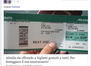 Alitalia Gratis